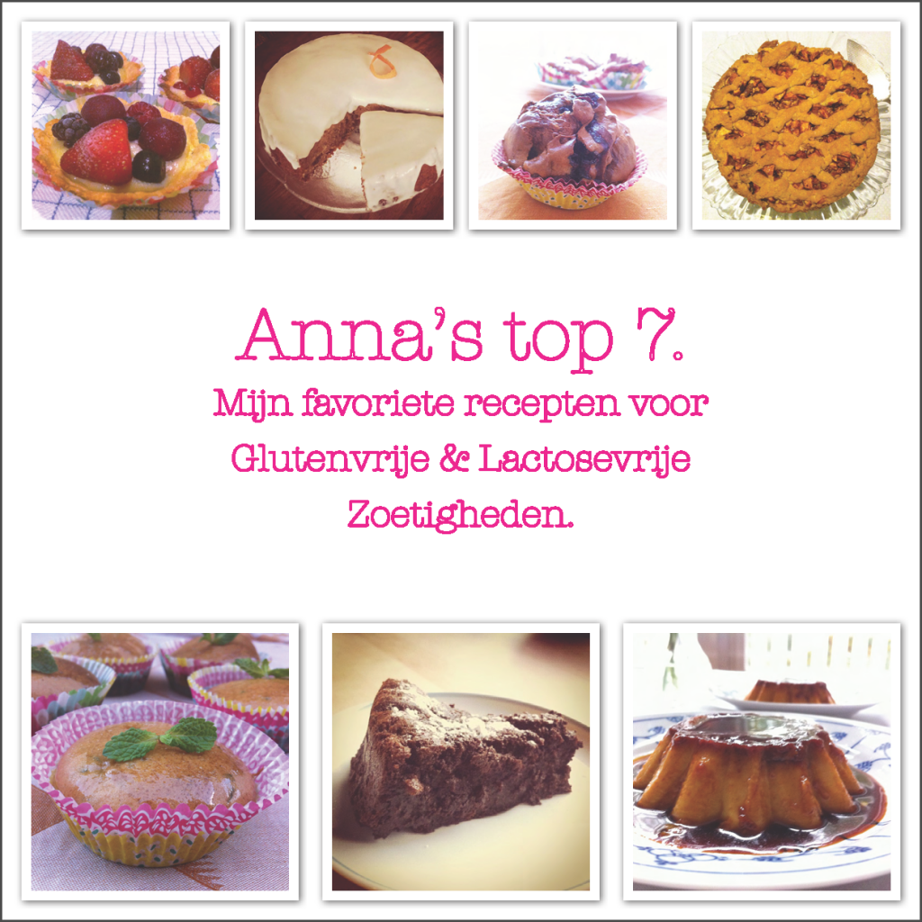 Anna's top 7 - Zoetigheden voorkant