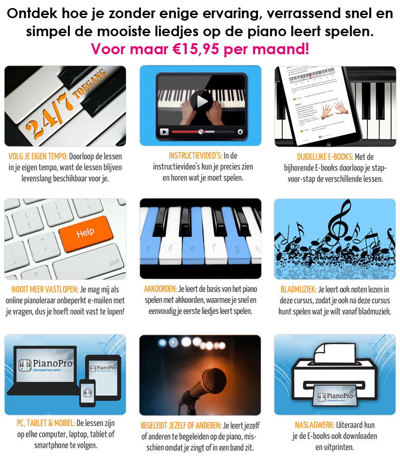 PianoPro-inhoud