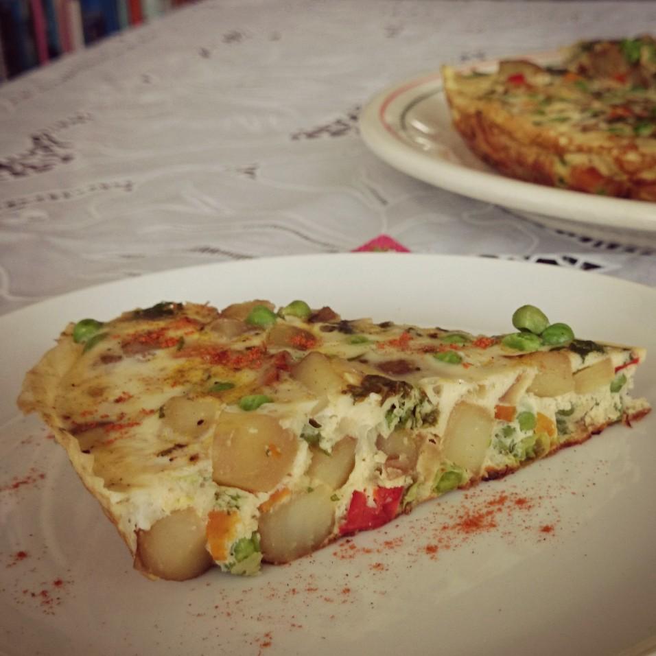 Spaanse Tortilla met groenten blog