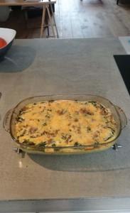 Ovenschotel met Aardappelpuree en Tonijn 4