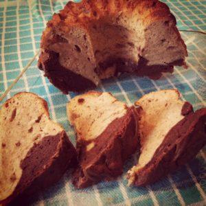 Gemarmerde Banaan Chocolade Cakejes