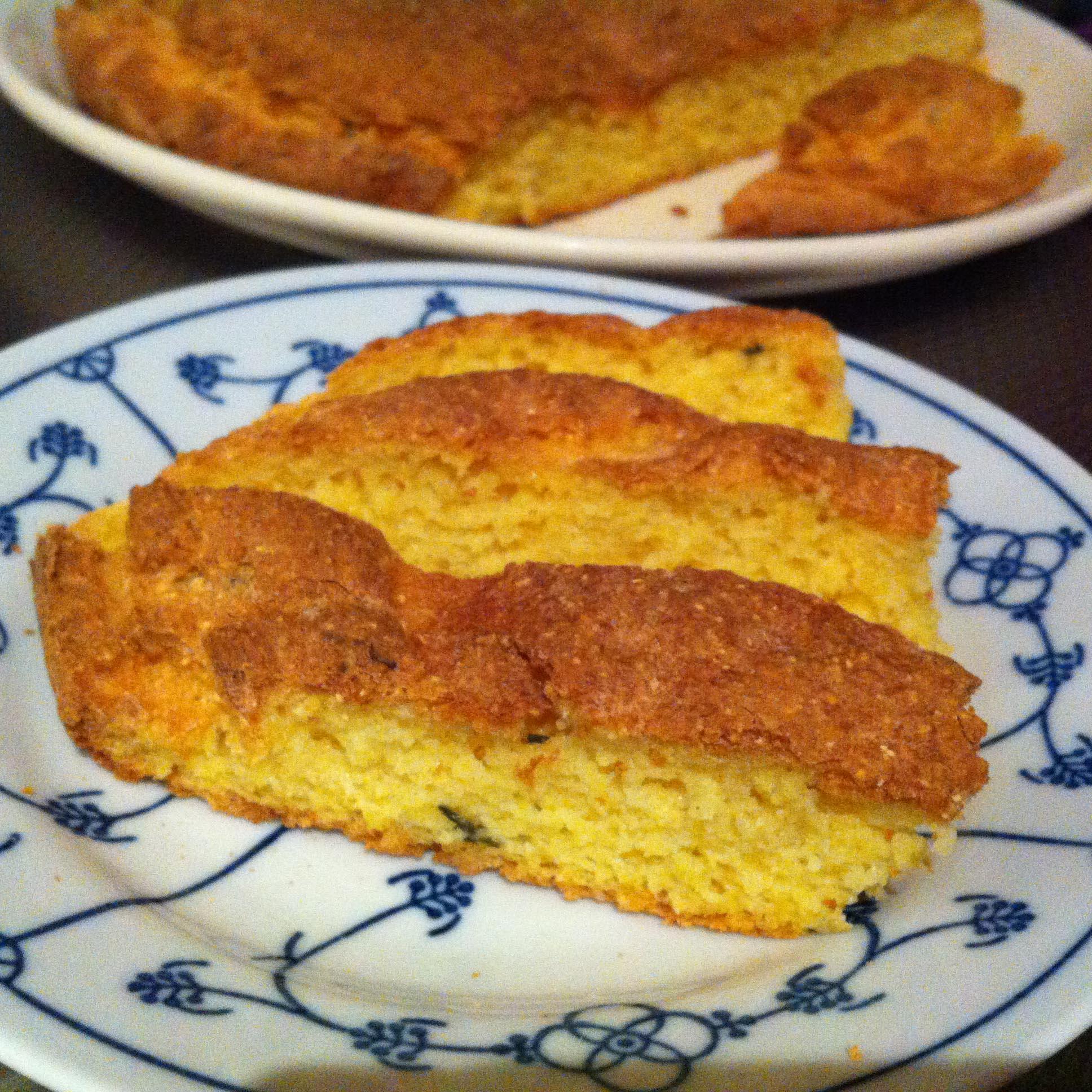 Lekker Mediterraans: Maïsbrood met Tijm