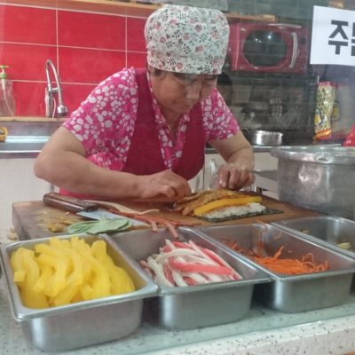 Glutenvrij & Lactosevrij in Korea: Gimbap