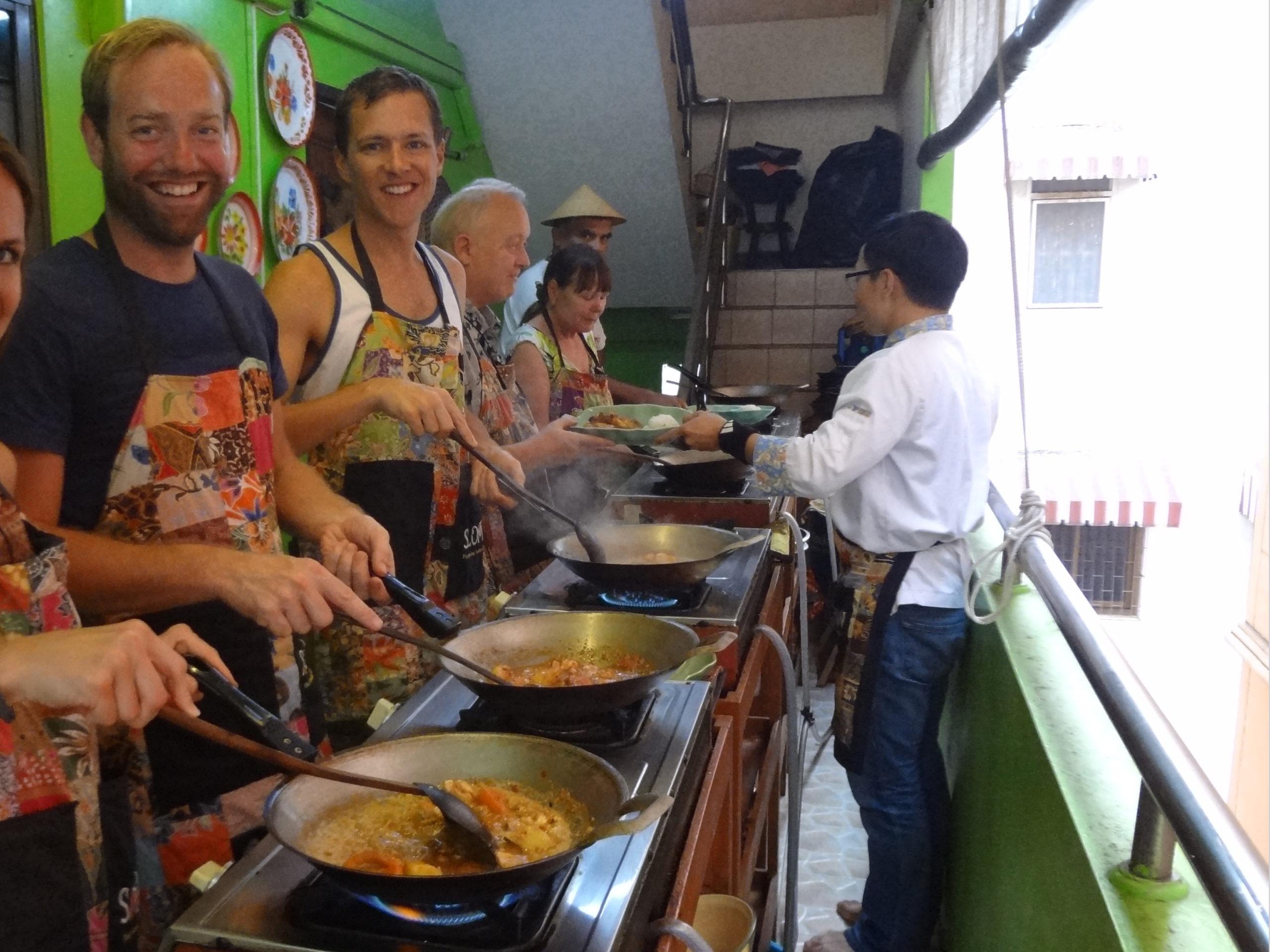 Heerlijke Thaise Groene Curry