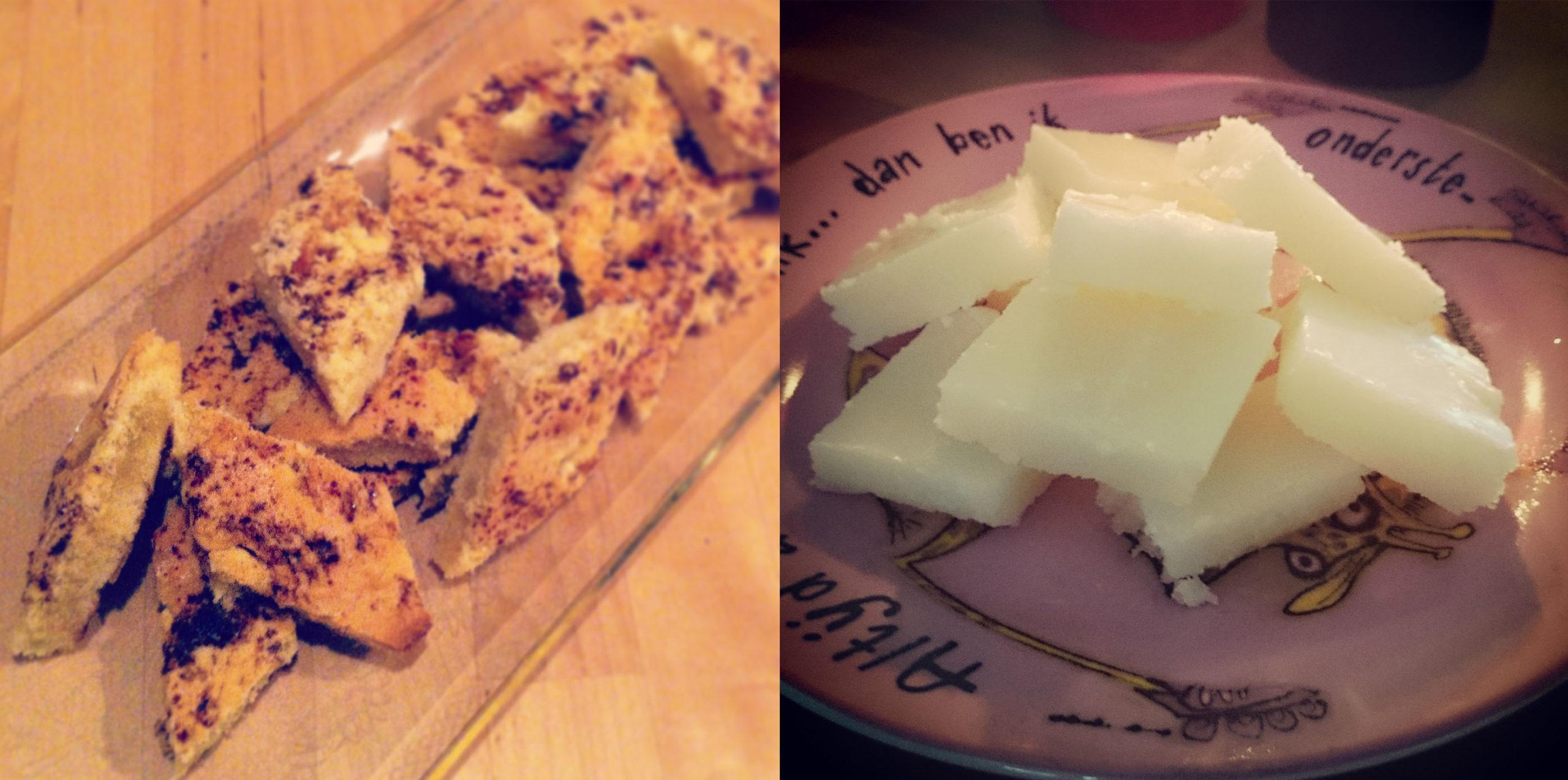 borstplaat en boterkoek