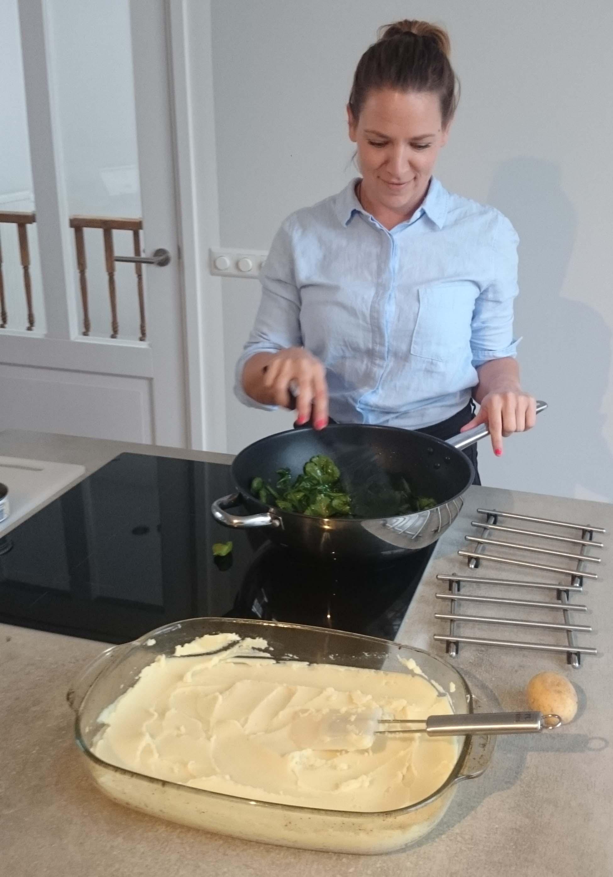 Ovenschotel met Aardappelpuree en Tonijn