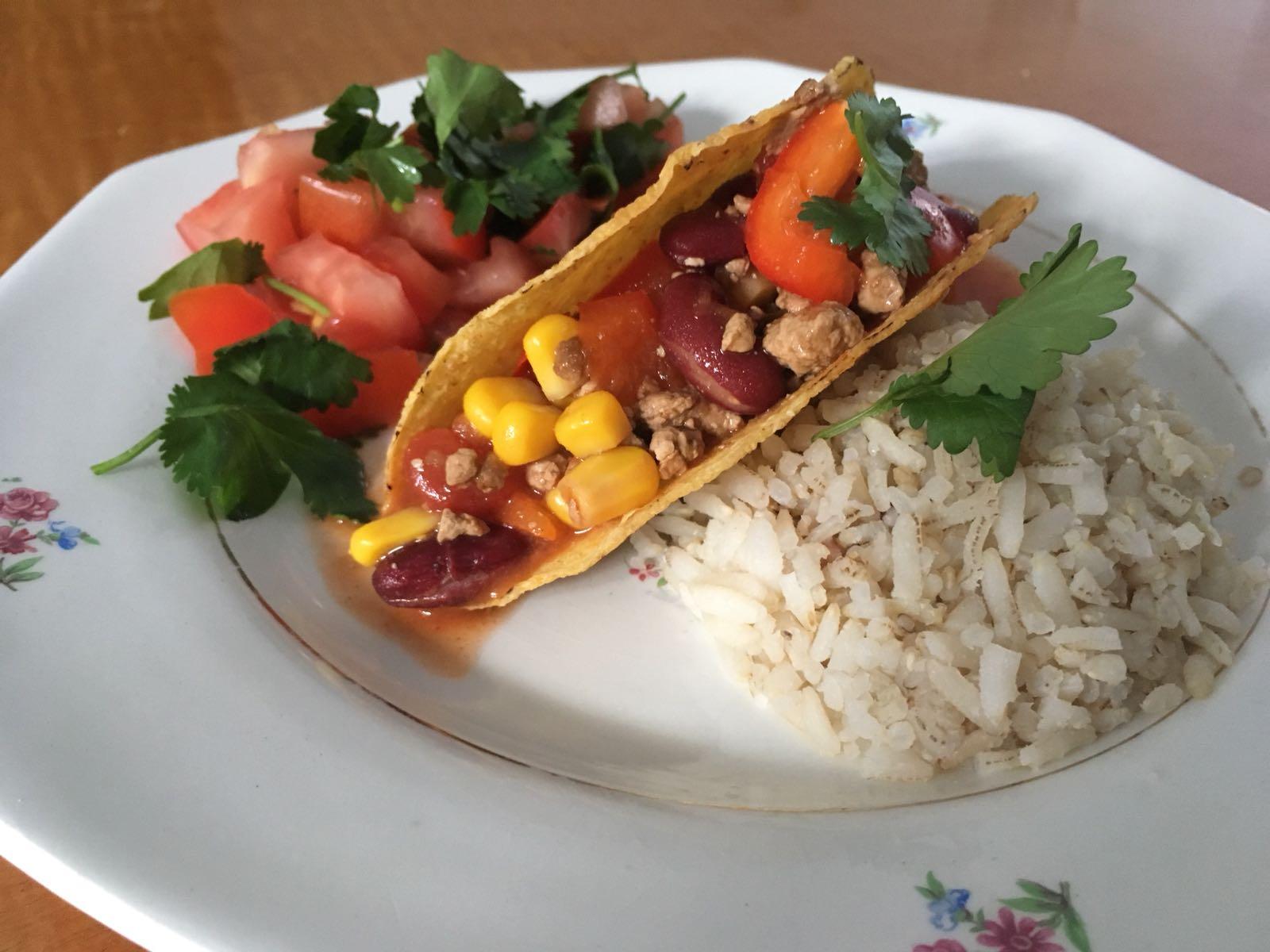 Vegetarische Taco's met Tomatensalsa